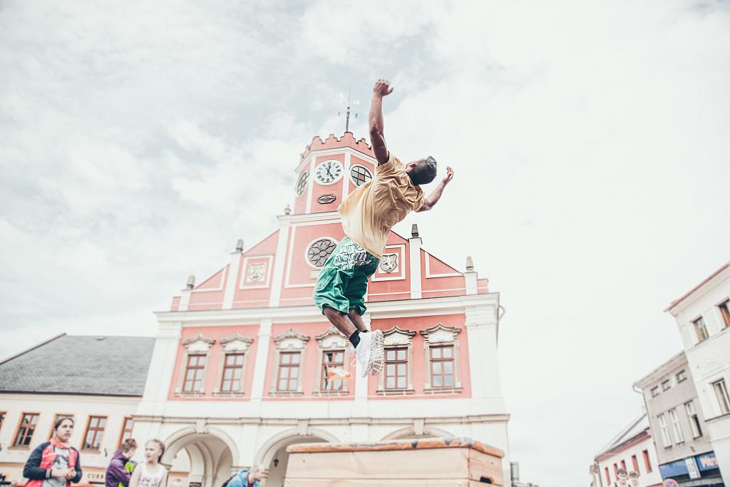 Polické náměstí oživil Freerun