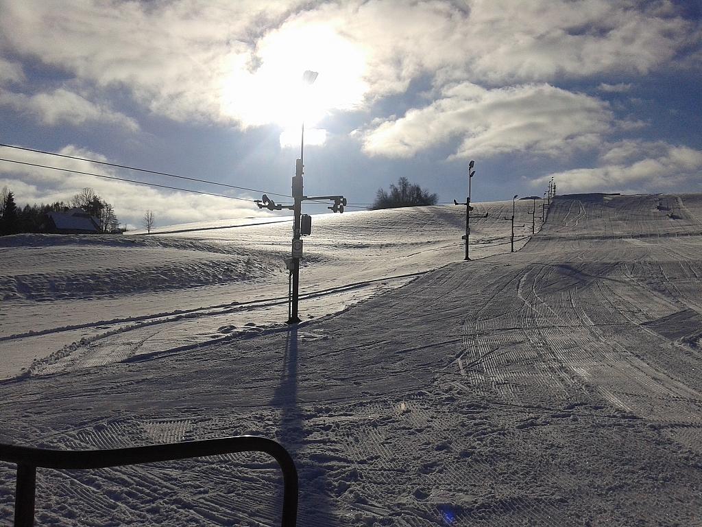 První lyžování na Nebíčku v letošním roce