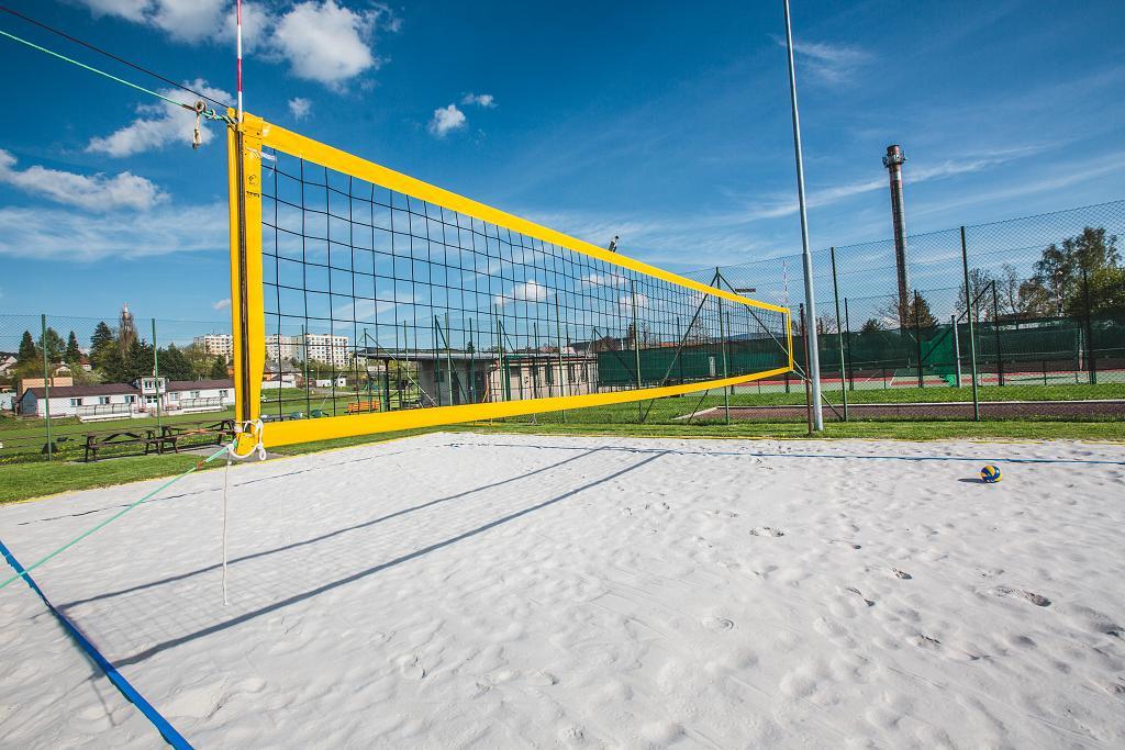 Rekonstrukce beach volejbalového hřiště