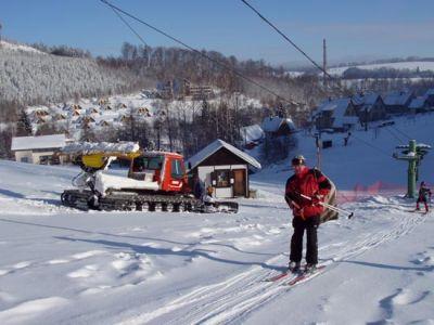 Skiareál Kamenec v Teplicích zahajuje sezónu