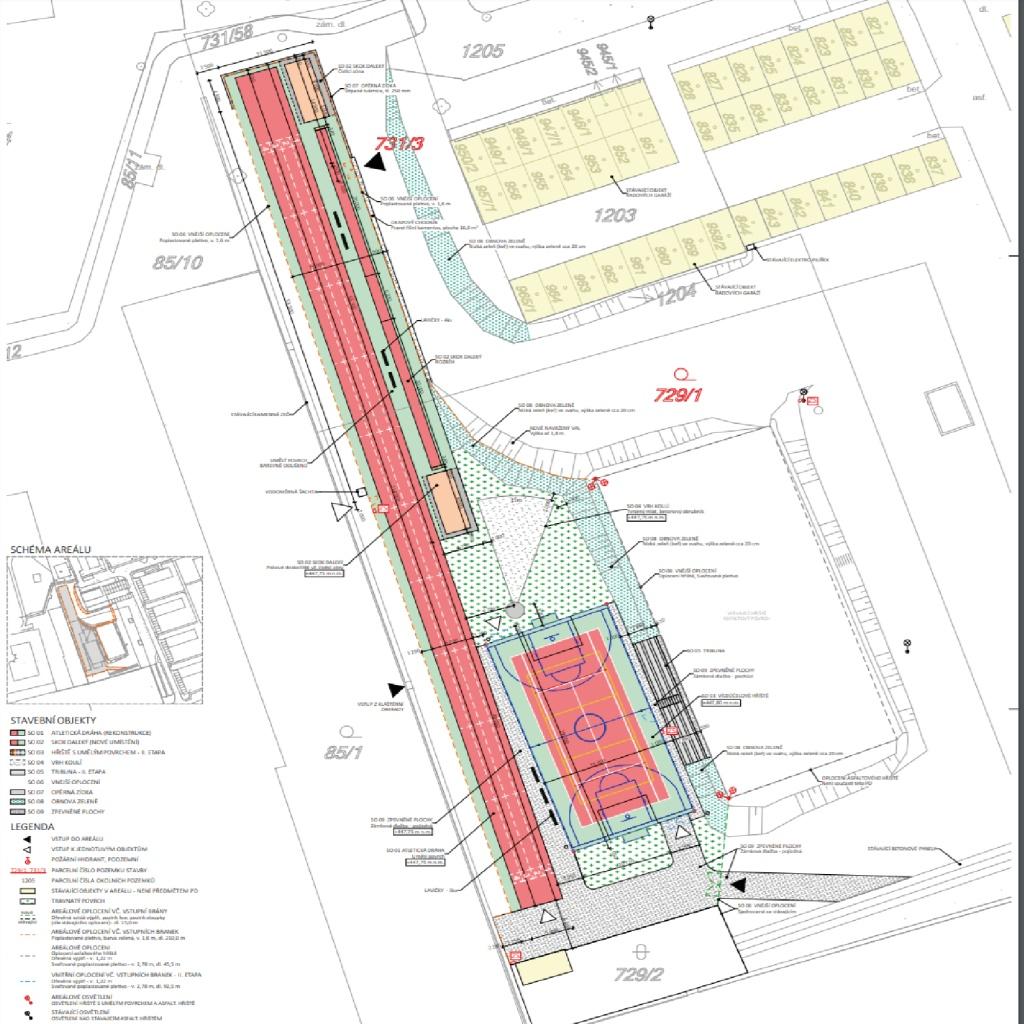 Vybudování školního hřiště