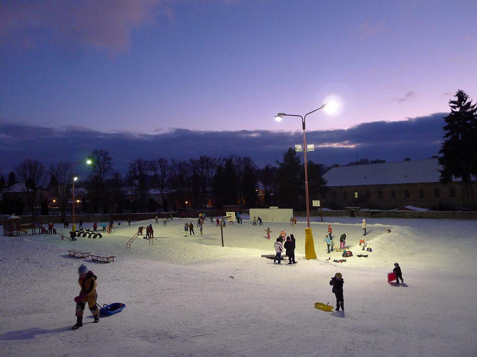 Zimní aktivity v našem městě
